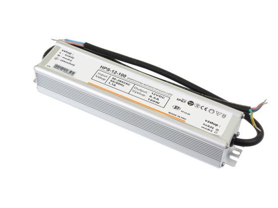LED zdroj 12V 100W HPS-12-100 Záruka 5 let