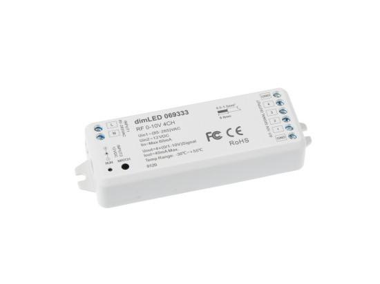 Ovladač dimLED RF 0-10V 4CH