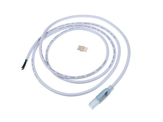 Přípojka LED RGB pásku na 230V