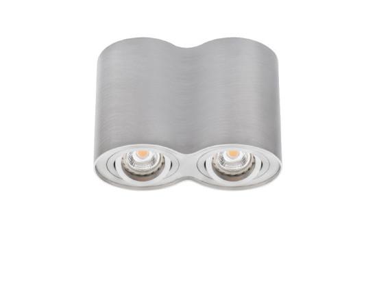 Přisazené svítidlo BORD DLP-250-AL stříbrné
