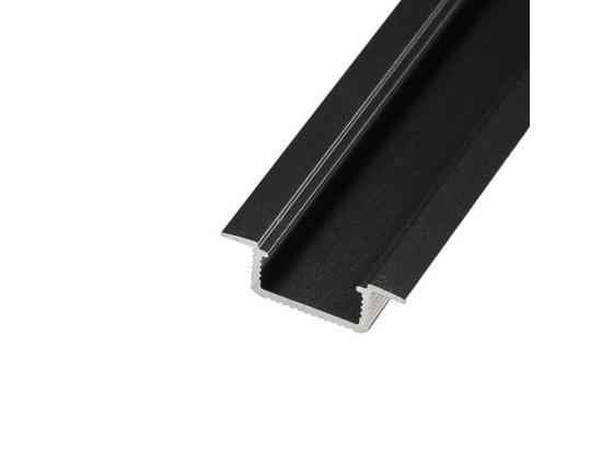 LED profil V5C - vestavný černý