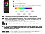 Ovladač dimLED OVM RGBW 1KRM