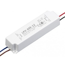 LED zdroj 12V 60W - LPV-60E-12