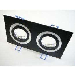 Podhledový rámeček D10-2B černý