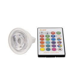 LED žárovka RGBW MR16 3W 60°