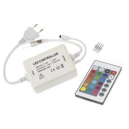 LED ovladač RGB 230V-IR24