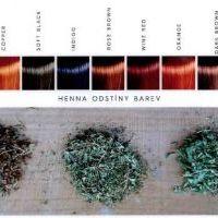 Voono Přírodní barva (henna) na vlasy Rose brown