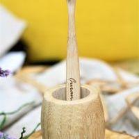 Curanatura Zubní kartáček s bambusovými štětinkami BAMBOO (extra soft)