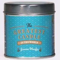 The Greatest Candle Vonná svíčka v plechovce - jasmínový zázrak