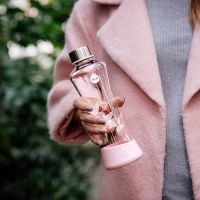 EQUA Skleněná lahev z borosilikátového skla Esprit Magnolia