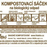 HBABio Kompostovatelné sáčky na odpad - 10 l