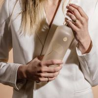 Equa Skleněná lahev z borosilikátového skla MISMATCH GINKO 750 ML
