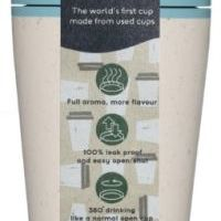 Circular Cup / rCUP kelímek - krémová/tyrkysová