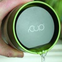 Circular Cup / rCUP kelímek - černá/tyrkysová 340 ml