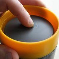 Circular Cup / rCUP kelímek - černá/růžová