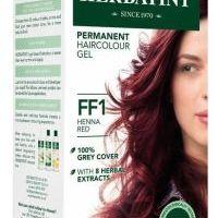 HERBATINT permanentní barva na vlasy červená henna FF1