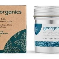 Georganics Žvýkačky - English Peppermint