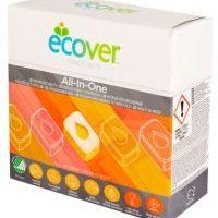 ECOVER tablety do myčky All in One 25 ks