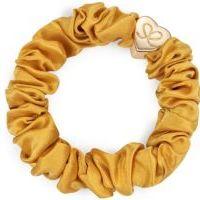 byEloise Gumička Gold Heart Silk Scrunchie