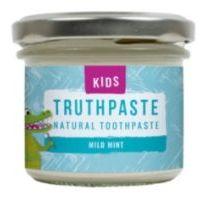 TRUTHPASTE Kids přírodní dětská zubní pasta jemná máta