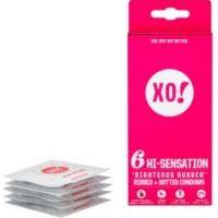 XO! Kondom z přírodního latexu Hi Sensation