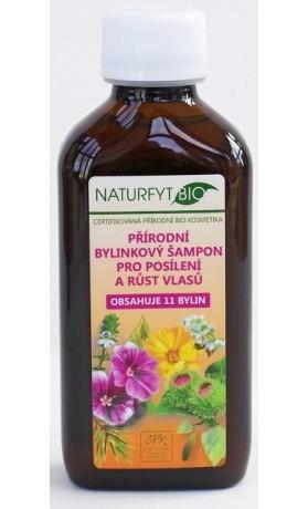 Naturfyt bio Přírodní BIO šampon 11 bylin pro růst vlasů