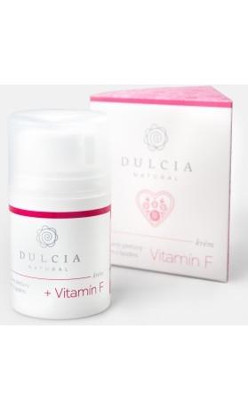 Dulcia natural Výživný pleťový krém s lipidy a vitamínem F