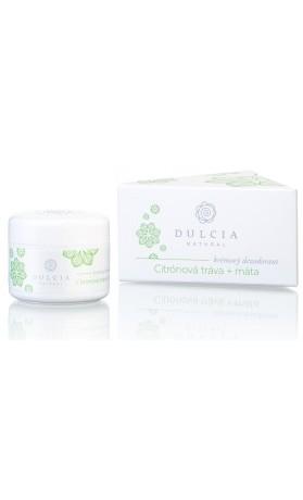 Dulcia natural Přírodní krémový deodorant citronová tráva - máta