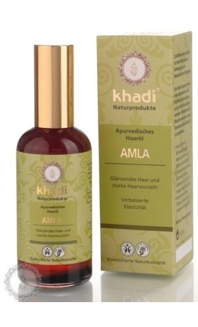 Khadi AMLA, vlasový olej pro zdraví a lesk vlasů