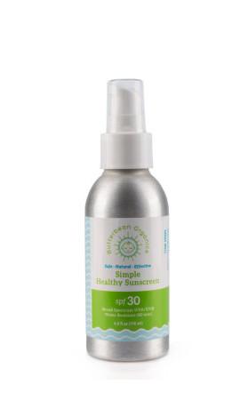 Butterbean Organics Simple SPF 30, BIO krém na opalování s pumpičkou