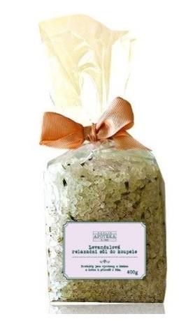 Havlíkova přírodní apotéka Levandulová relaxační sůl do koupele
