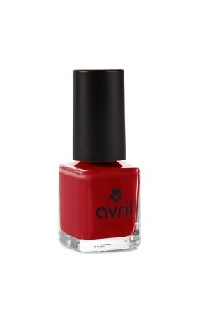 Avril Organic Lak na nehty 7-free Rouge opéra No.19
