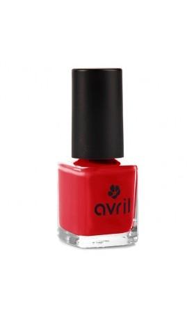 Avril Organic Lak na nehty 7-free Vermillon No. 33
