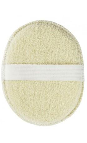 Avril Organic Houbička na tvář z organické bavlny 1 kus 14 cm
