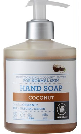 Urtekram Hydratační tekuté mýdlo s kokosovým nektarem BIO