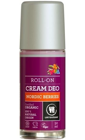 Urtekram Krémový deodorant roll-on se severskými bobulemi BIO