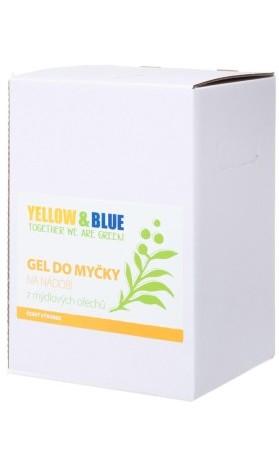 Yellow&Blue Gel do myčky na nádobí z mýdlových ořechů, bag-in-box