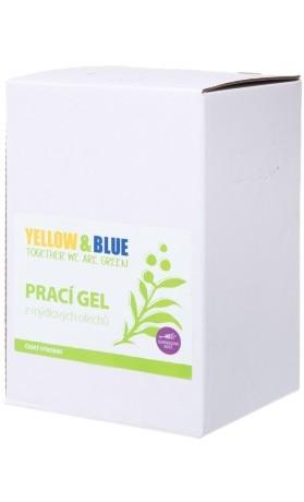 Yellow&Blue Prací gel z mýdlových ořechů s levandulovou silicí, bag-in-box