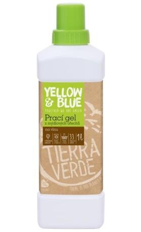 Yellow&Blue Prací gel z mýdlových ořechů na vlnu a funkční textil z merino vlny