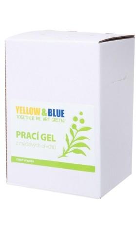 Yellow&Blue Prací gel z mýdlových ořechů bez vůně, bag-in-box