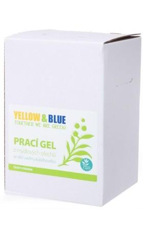 Yellow&Blue Prací gel z mýdlových ořechů se silicí vavřínu kubébového, bag-in-box
