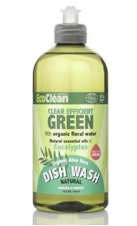 Eco Clean Prostředek na mytí nádobí s vůní Eukalyptus