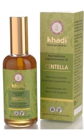Khadi pleťový a tělový olej CENTELLA - regenerační a proti striím