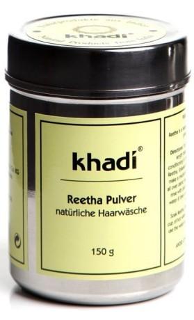 Khadi prášek REETHA – jemný šampon z mýdlových ořechů