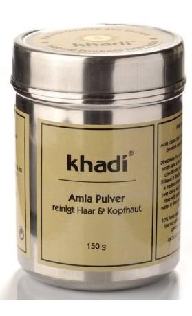 Khadi prášek AMLA – přírodní kondicionér a kúra pro objem a lesk