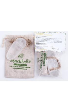 CosmetikaBio Alun, přírodní deodorant kamenec 100g (váha se liší kus od kusu)