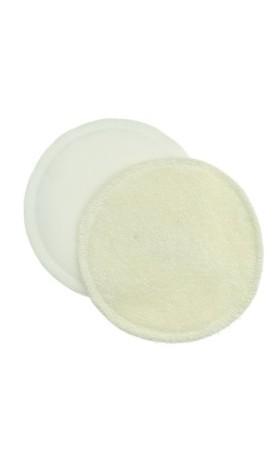 Anavy Vložky do podprsenky nepropustné PUL (krémová/bílá) 2 ks