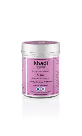 Khadi pleťová bylinná maska Vetiver proti akné