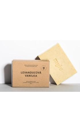 Mylo Levandulová vanilka, jemné peelingové mýdlo s vanilkou a levandulí