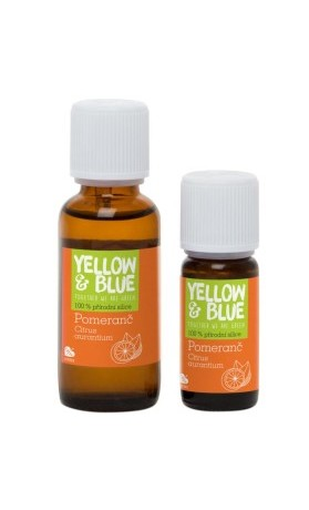 Yellow Blue Silice Pomeranč